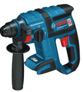 Bosch GBH 18 V-EC Akku-Bohrhammer mit Meißelfunktion GBH 18 V-EC SOLO in der L-Boxx Gr. 2 mit Einlage