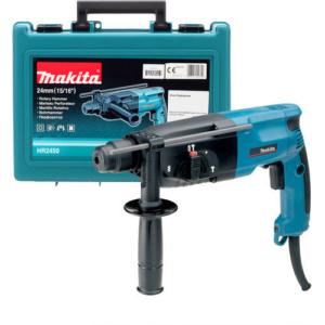 Makita HR2450 Bohrhammer 24 mm für SDS-PLUS-Werkzeuge 780 Watt 2,3 Joule hämmern, bohren, meißeln