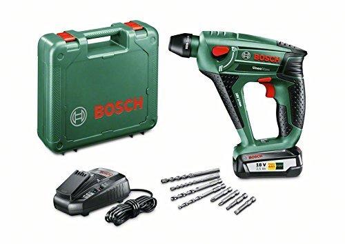 Bosch Akku Bohrhammer Uneo Maxx 18 Volt grün