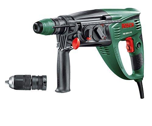 Bosch Bohrhammer PBH 3000-2 FRE (750 Watt, mit SDS Bohrfutter und 2,8 Joule Schlagenergie