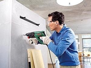 Bosch PBH 2800 RE Bohrhammer + Flachmeißel, Tiefenanschlag, Zusatzhandgriff und Koffer (720 W, Bohr-Ø Beton 26 mm)