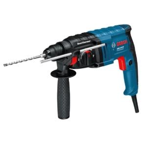 Bosch GBH 2-20 D Bohrhammer mit SDS-plus 650 Watt + Koffer + Zusatzhandgriff + Tiefenanschlag 210 mm