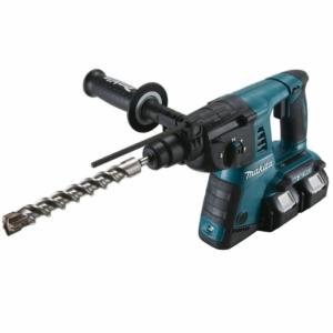 Makita Akku-Bohrhammer 18V für SDS-Plus, (2 x 18 V, ohne Akku und Ladegerät), DHR263Z