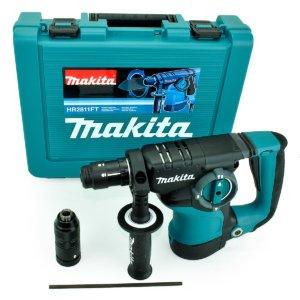 Makita HR2811FT Kombihammer für SDS-PLUS-Werkzeuge 800 Watt 230 Volt