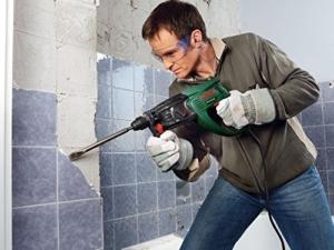 Bosch PBH 2800 RE Bohrhammer + Flachmeißel