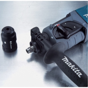 Makita HR 2470 SDS-plus Bohrhammer 780 Watt 2,4 Joule Hammerbohren bohren meißeln regelbare Dreh- und Schlagzahl