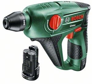 Bosch Uneo 10,8 V Akku-Bohrhammer 0,5 Joule Lithium-Ionen-Akku