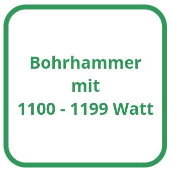 Bohrhammer mit 1100 bis 1199 Watt