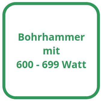 Bohrhammer mit 600 bis 699 Watt