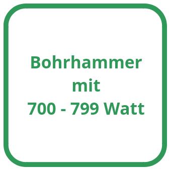 Bohrhammer mit 700 bis 799 Watt