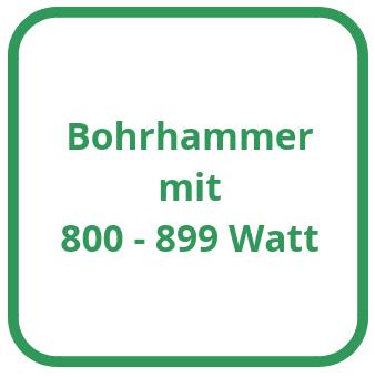 Bohrhammer mit 800 bis 899 Watt